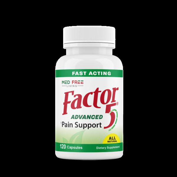Factor 5 120 Count Bottle