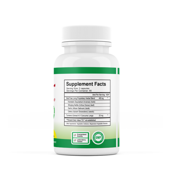 Factor 5 120ct Supplement Facts