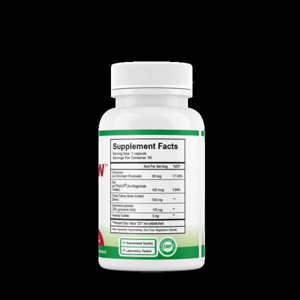 Insuleen Supplement Facts
